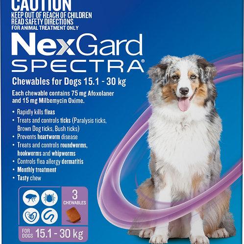 NexGard Spectra Large 3 Pack