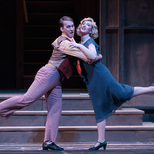Mae Jones, Street Scene, Peabody Opera