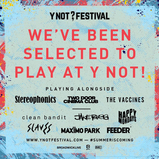 Sugarthief To Play At Y NOT Festival