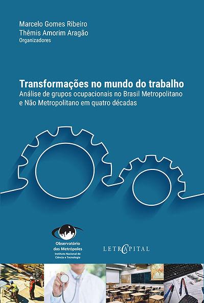 Livro TRANSFORMACOES NO MUNDO DO TRABALH