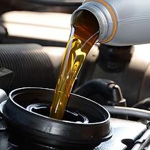 Resíduos de óleo lubrificante