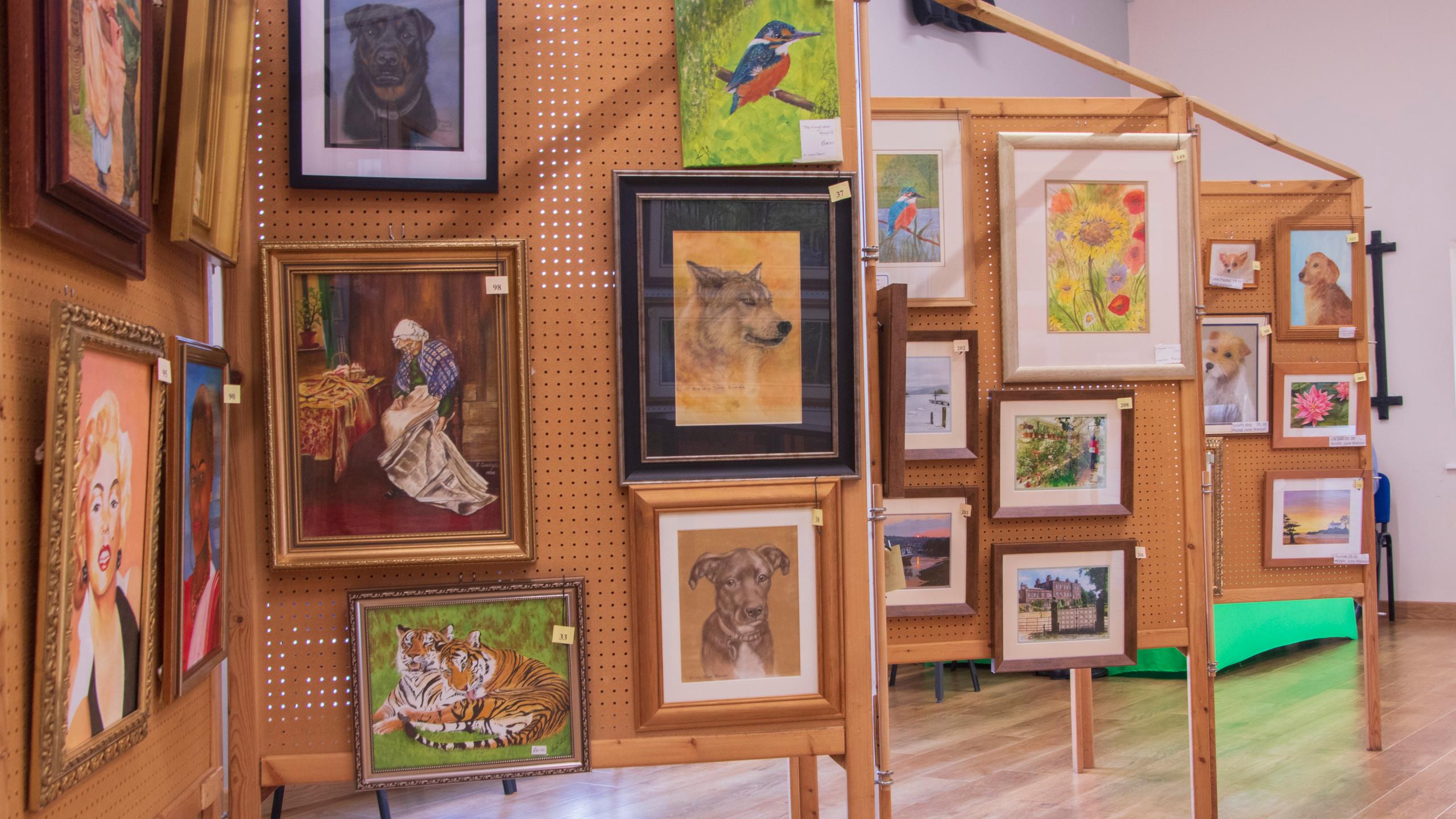 Mareham-le-Fen Art Exhibition_ 01