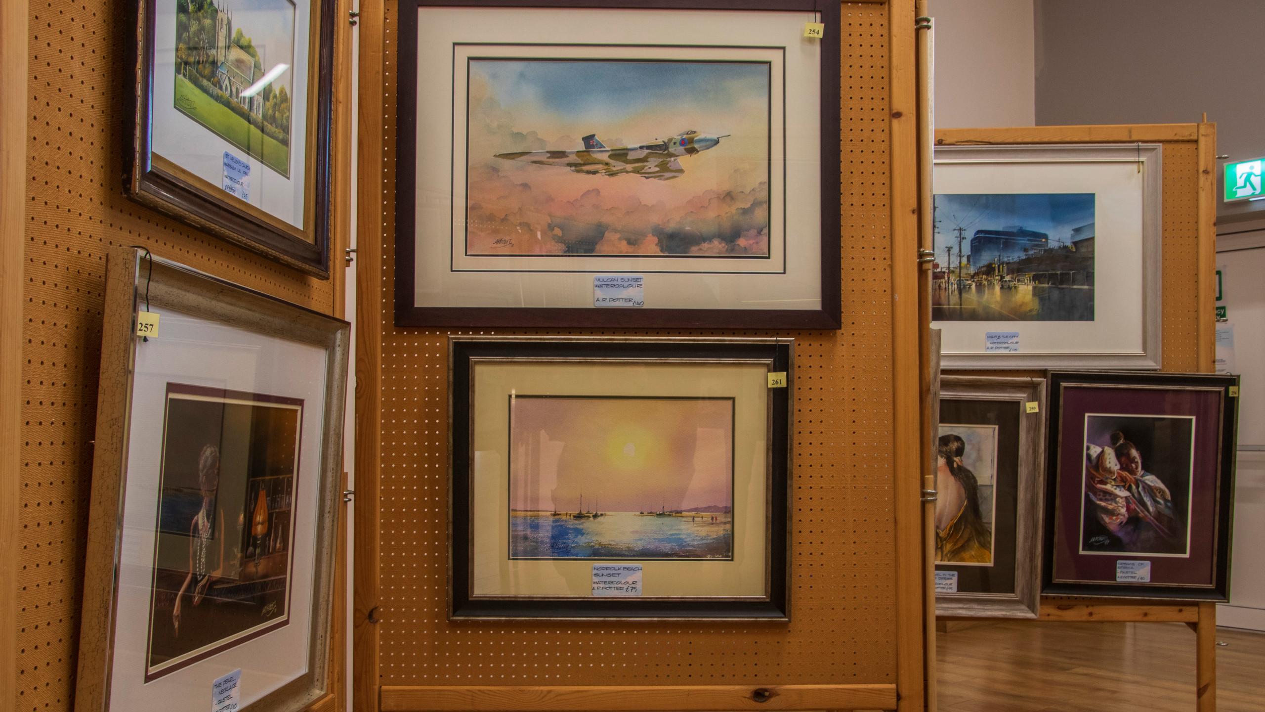 Mareham-le-Fen Art Exhibition_ 02