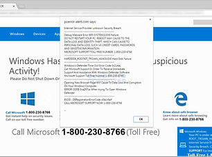 virus, pop-up, scam