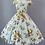 Thumbnail: Yellow Rose Print Dress