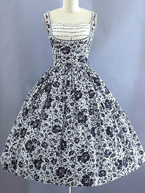Botanial Shelf Bust Dress