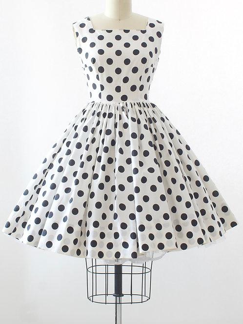 Polka Dot Cotton Dress