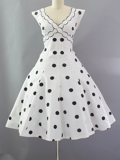 Classic Polka Dot Dress