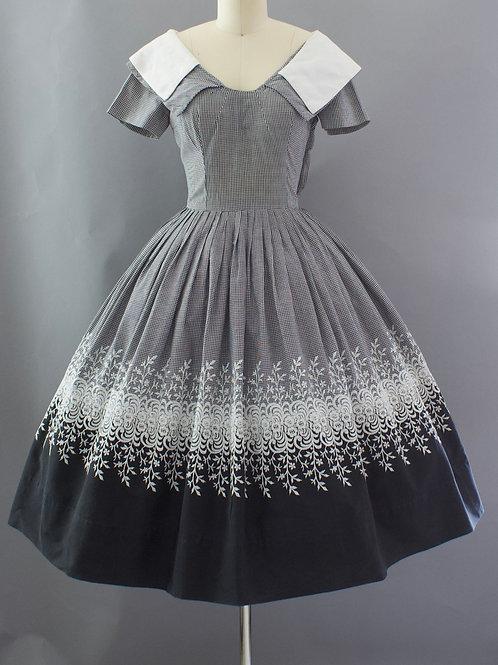 Classic Gingham Dress