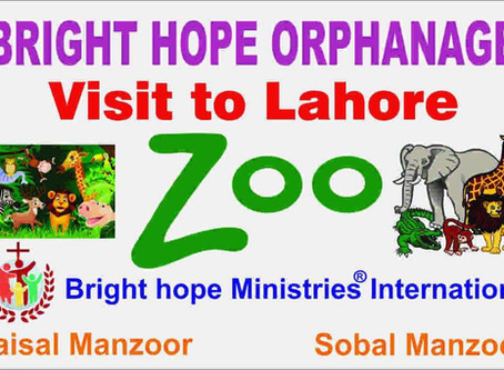 Visit to Lahore Zoo (Bright Hope Orphanage)