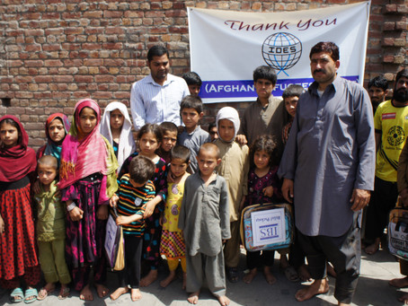 Gospel To Afghani's Children's (Sharing God's Love)