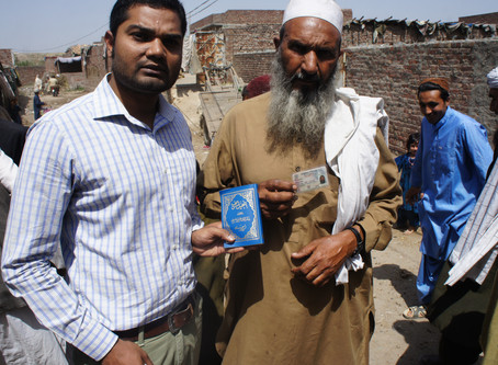 New Testament in Afghani's refugees