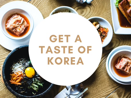 Get a Taste of Korea