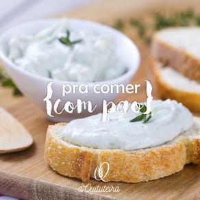 Patê de queijo com nozes