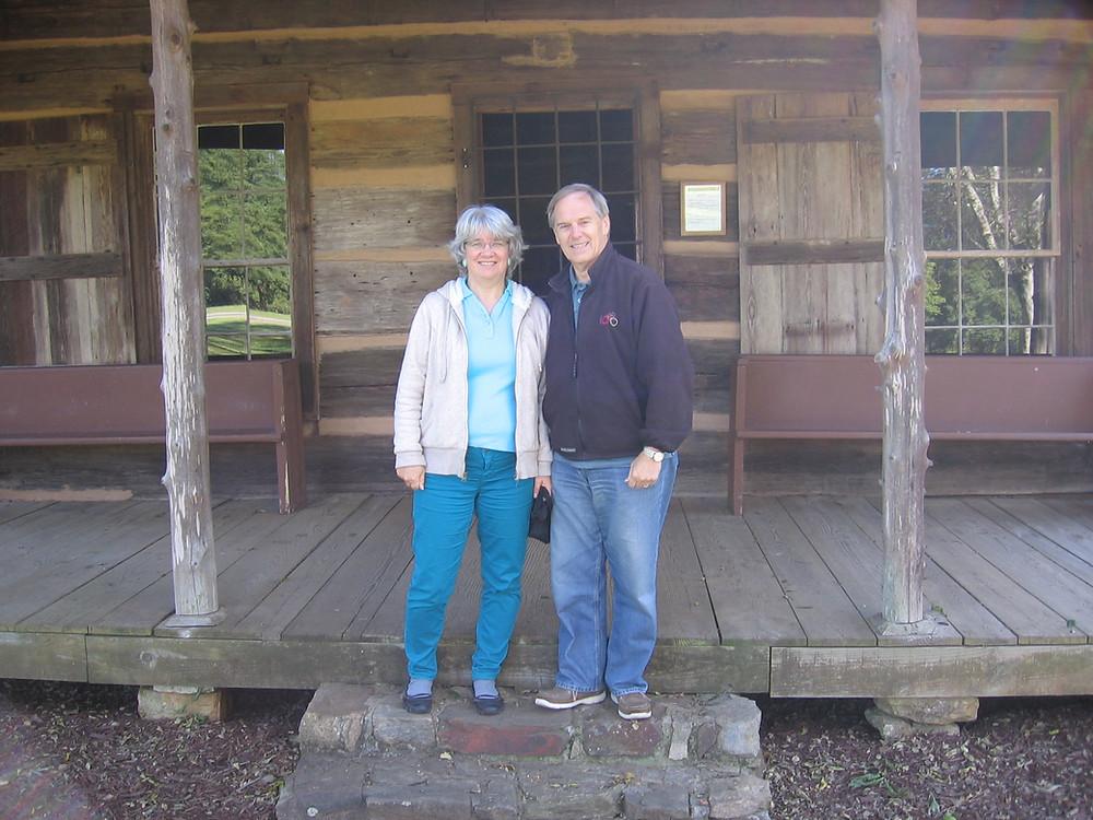 David and Edeana at Ninety Six