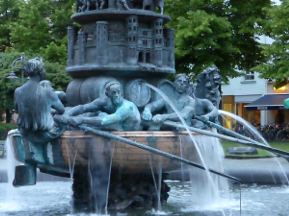 Fountain in Koblenz