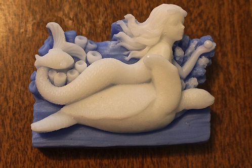 Mermaid with Turtle