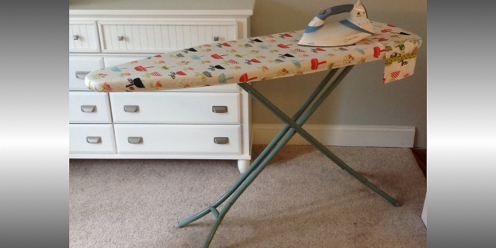 Ironing Board Cover and Organizer Serger Club -  Monday