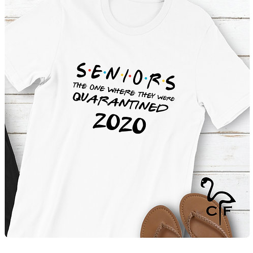 Senior 2020 The One Where They Are Quarantined