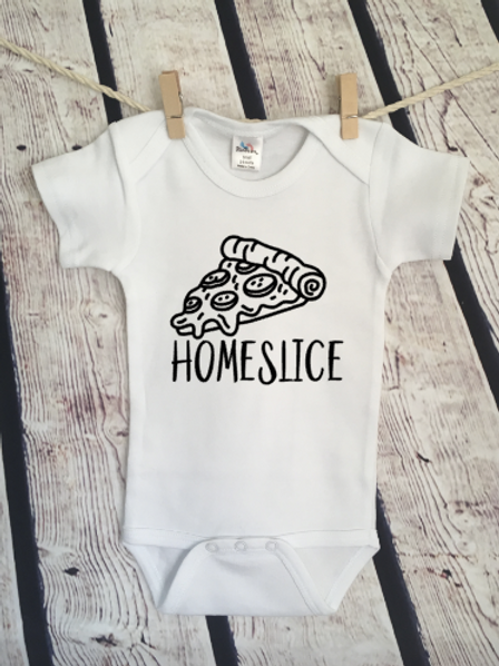 Home Slice Pizza Partner in Crime Baby bodysuit