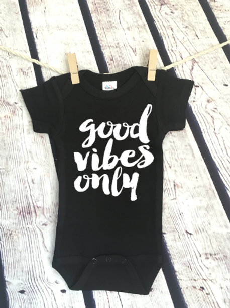 Good Vibes Only bodysuit