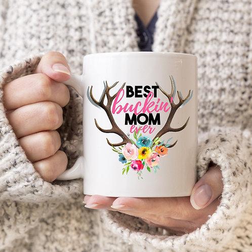 Best Buckin' mom mug
