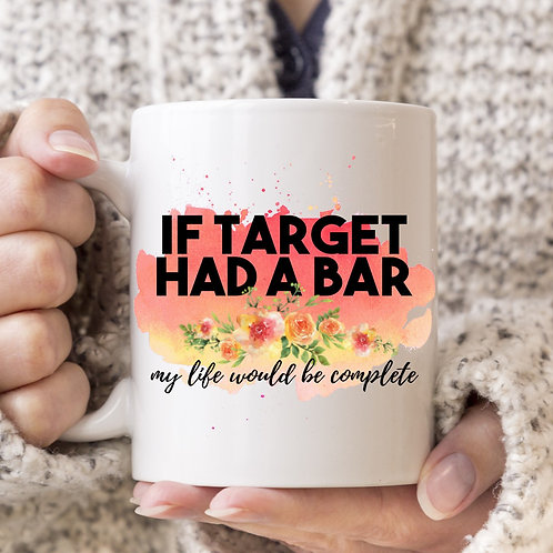 if Target had a bar mug