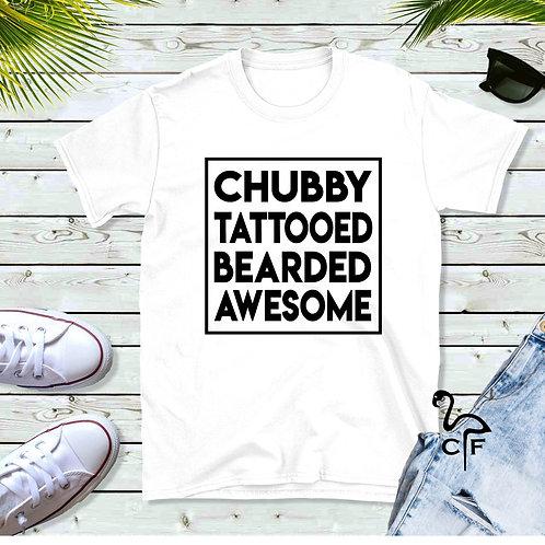 Chubby Tattooed Bearded Awesome
