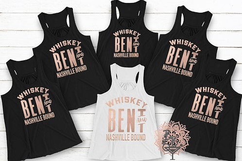 Whiskey Bent and Hell Bound Shirt or Tank
