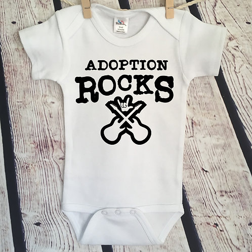 Adoption Rocks Bodysuit