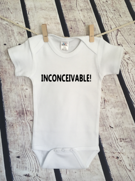 Inconceivable! baby bodysuit and toddler shirt