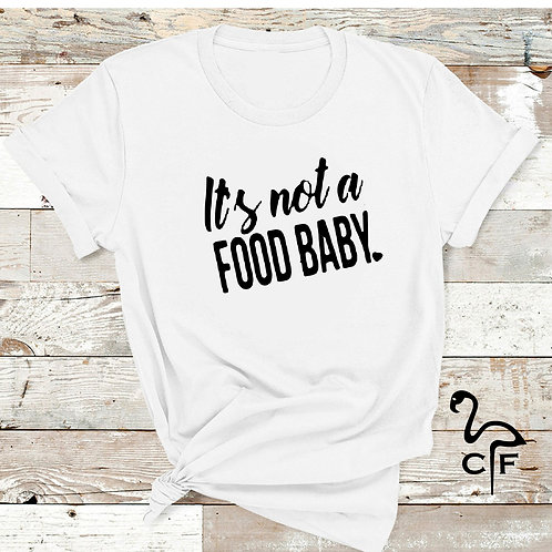 It's not a food baby