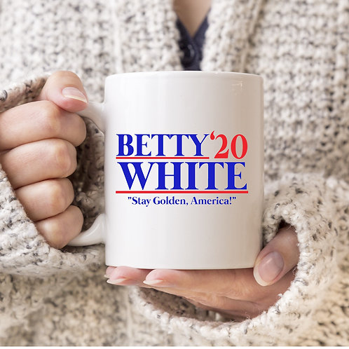 Betty White 2020 Mug