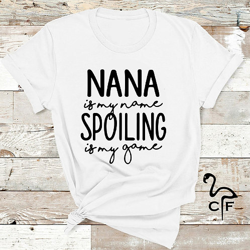 Nana is my Name Spoiling My Game