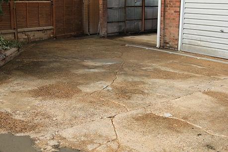 resin bound onto concrete