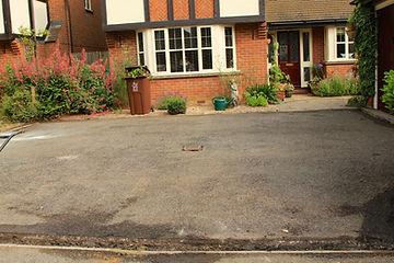 overlay resin driveway
