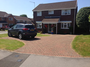 resin drive over block paving