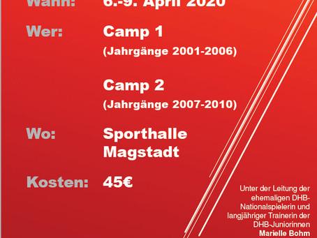 SVM Ostercamp 2020 mit Marielle Bohm