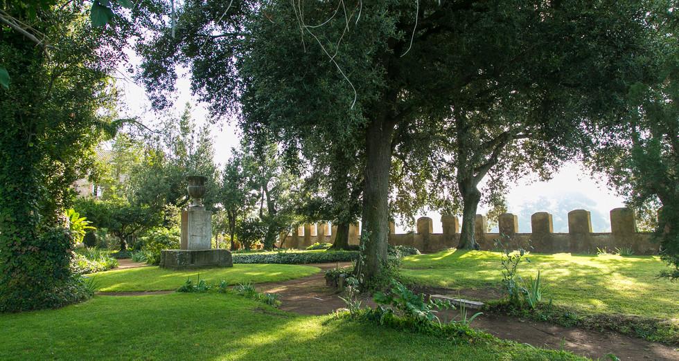 Il giardino storico.