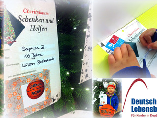 Charitybaum der Deutschen Lebensbrücke
