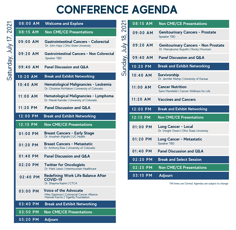 2021 ASCO Direct Highlights  Denver Conference Agenda - Best of ASCO - Official Licensed ASCO - Post ASCO - ASCO Review - Oncology Education  Med Ed CME MOC - Total Health Conferencing