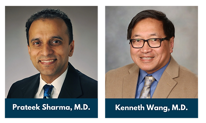 2021 11th Annual Expert Strategies in Endoscopy, Gastrointestinal and Liver Disorders Conference Course Directors Prateek Sharma, M.D., and Kenneth Wang, M.D.
