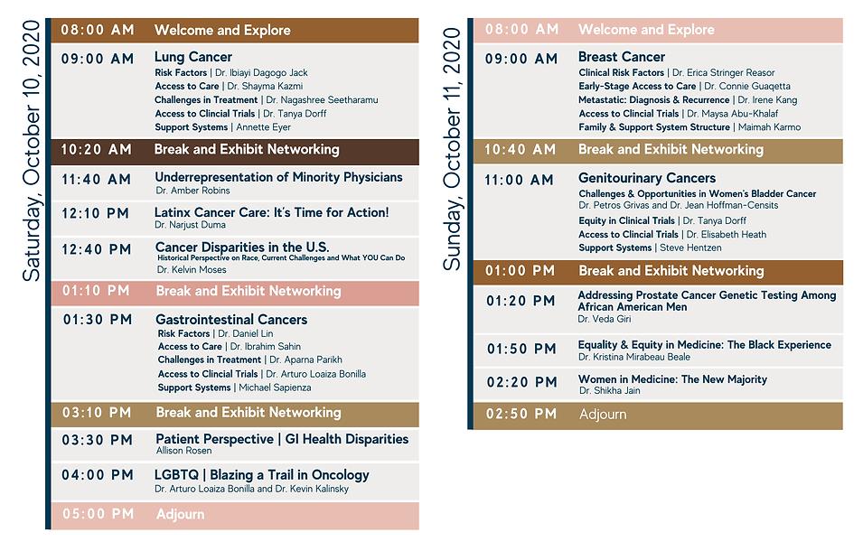Diversity in Cancer Care Agenda Social P