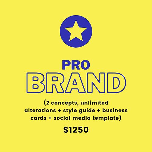 Pro Brand (pay 10% deposit)