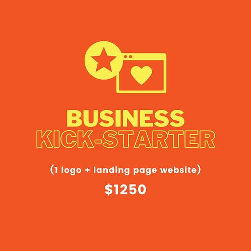 Business Kick-Starter (pay 10% deposit)
