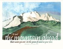 The Mountain Ahead