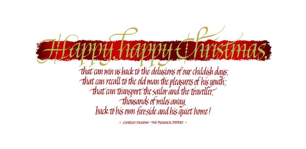 Happy, Happy Christmas