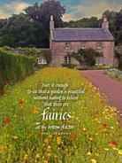 A Garden Is Beautiful (Fairies)
