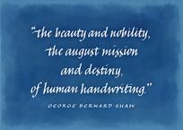 Human Handwriting