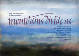 Mountains Divide Us